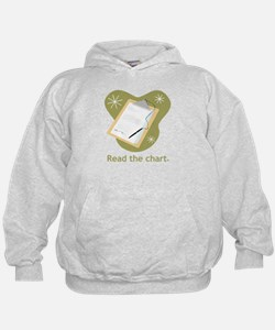 Read the Chart Hoodie