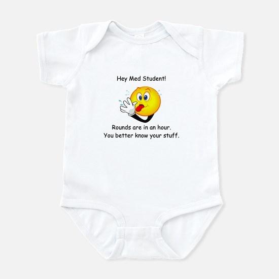 Hey Med Student Infant Bodysuit