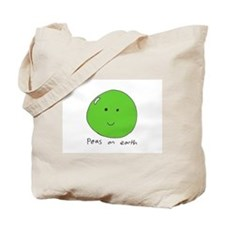 Tote Bag 'peas on earth'