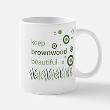 """Keep Brownwood Beautiful"" Mug"