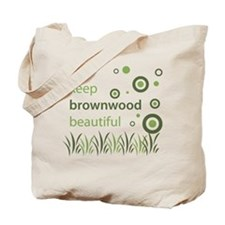 """Keep Brownwood Beautiful"" Tote Bag"