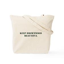 """Keep Brownwood Beautiful"" Tote Bag"