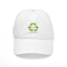 """reduce. reuse. recycle."" Baseball Cap"
