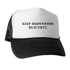 """Keep Brownwood Beautiful"" Trucker Hat"