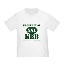 """Property of KBB"" T"