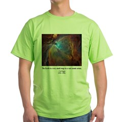 Carl Sagan B Green T-Shirt
