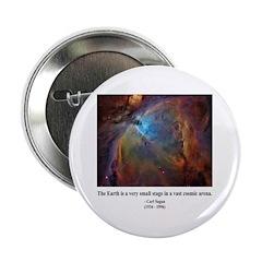 """Carl Sagan B 2.25"""" Button (10 pack)"""