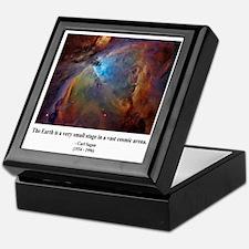 Carl Sagan B Keepsake Box