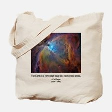 Carl Sagan B Tote Bag