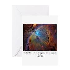 Carl Sagan B Greeting Card