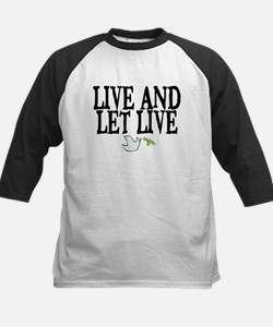 LIVE AND LET LIVE (DOVE) Tee