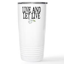 LIVE AND LET LIVE (DOVE) Travel Mug