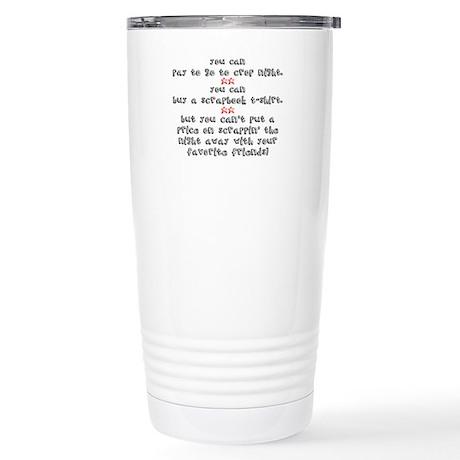 Priceless Stainless Steel Travel Mug