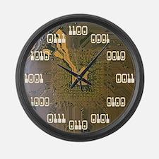 Binary Clock v2.0 Large Wall Clock