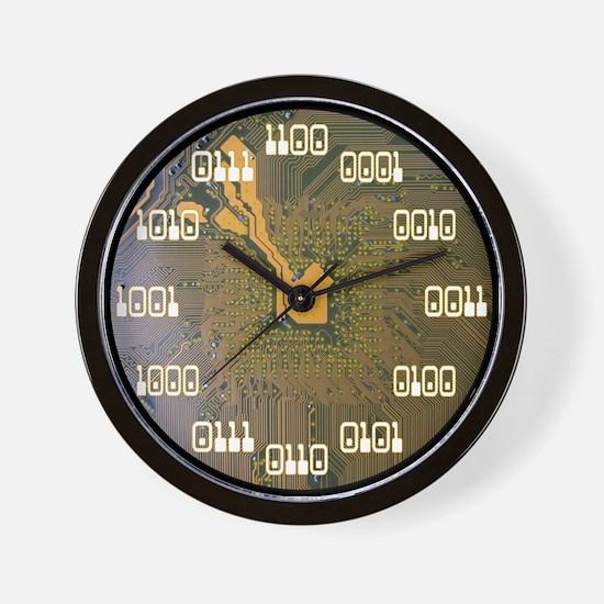 Binary Clock v2.0 Wall Clock