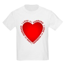I Love My Husband - T-Shirt