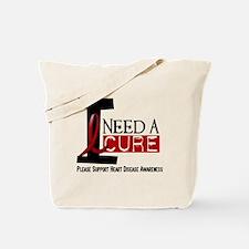 I Need A Cure Heart Disease Tote Bag
