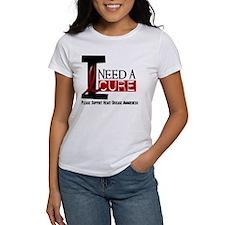 I Need A Cure Heart Disease Shirt Tee