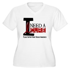 I Need A Cure Heart Disease Shirt T-Shirt