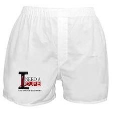 I Need A Cure Heart Disease Boxer Shorts
