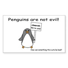 Not Evil Penguin Decal