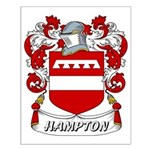 Hampton Coat of Arms Small Poster