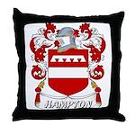 Hampton Coat of Arms Throw Pillow