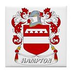 Hampton Coat of Arms Tile Coaster