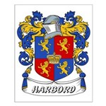 Harbord Coat of Arms Small Poster