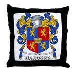 Harbord Coat of Arms Throw Pillow