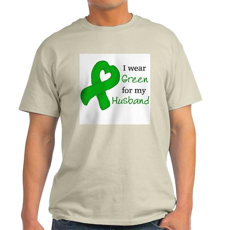 I WEAR GREEN for my Husband Light T-Shirt