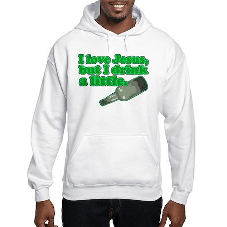 Jesus Drink Hooded Sweatshirt