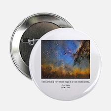 "Carl Sagan D 2.25"" Button"