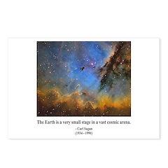 Carl Sagan D Postcards (Package of 8)