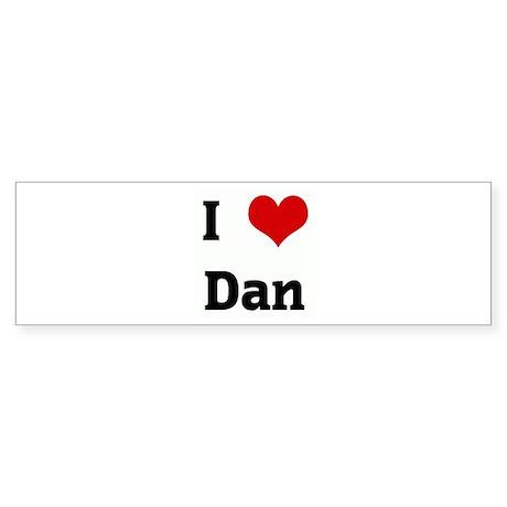 I Love Dan Bumper Sticker (50 pk)