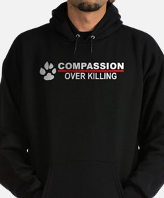 Compassion Over Killing Logo Hoodie