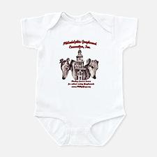 PGC Logo ~ Red Infant Bodysuit