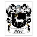 Hedd Coat of Arms Small Poster