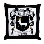 Hedd Coat of Arms Throw Pillow