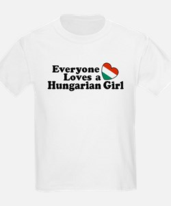 Everyone Loves a Hungarian Girl T-Shirt