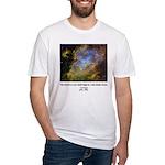 Carl Sagan J Fitted T-Shirt
