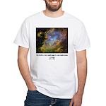 Carl Sagan J White T-Shirt