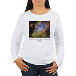 Carl Sagan J Women's Long Sleeve T-Shirt