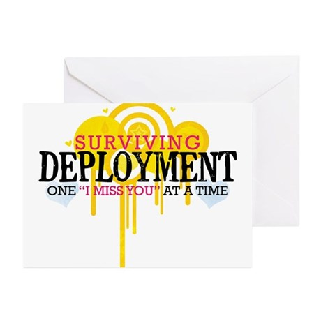 Deployment (I Miss You) Greeting Cards (Pk of 20)
