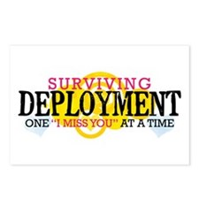 Deployment (I Miss You) Postcards (Package of 8)
