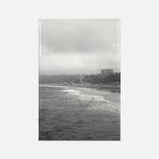 Santa Monica Beach Rectangle Magnet