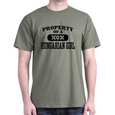 Property of a Hungarian Girl T-Shirt