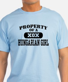 Property of a Hungarian Girl T-Shirt