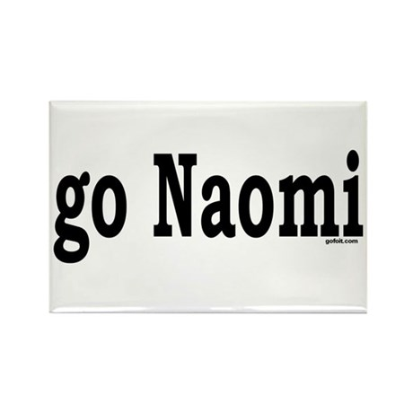 go Naomi Rectangle Magnet