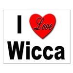 I Love Wicca Small Poster